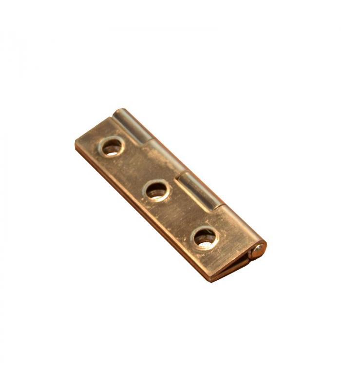 Charnière rectangulaire 60x30 mm inox poli - épaisseur 1.3mm