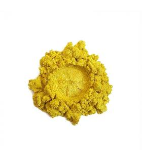 Metallic sunshine yellow pigment 25gr