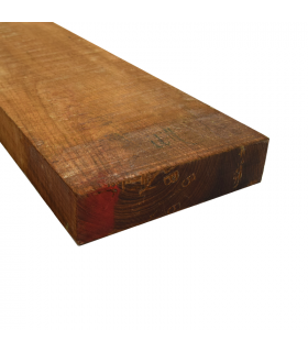 Burmese teak edged 52x26x763mm F.E.Q (First European Quality)