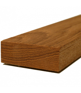 Burmese teak timber 47x25x800mm Smooth 4 Sides (S4S)