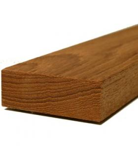 Burmese teak edged 47x16x1000mm planed 4 sides (S4S)
