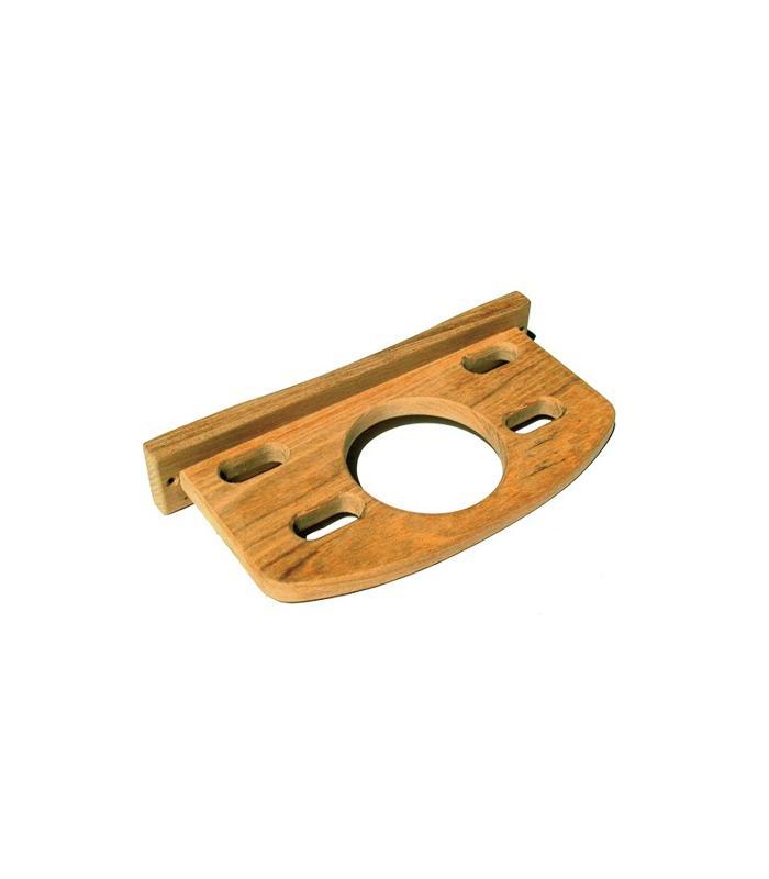 Porte verre et 4 brosses à dents 21x10.5x3.5cm