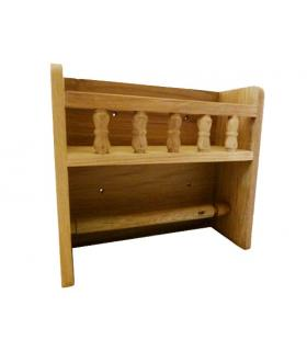 Spice rack and paper towel holder 33x10x25.5cm