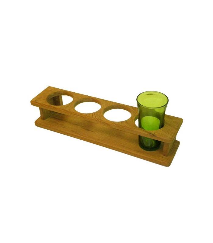 Support 4 verres 38.6x9x8.5cm