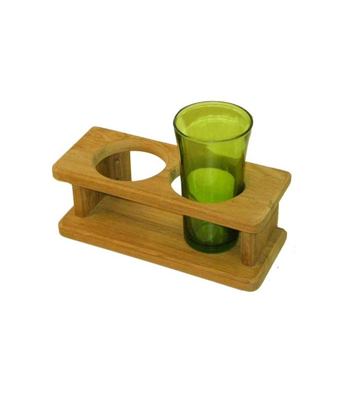 2-glass holder 22x9x8.5cm