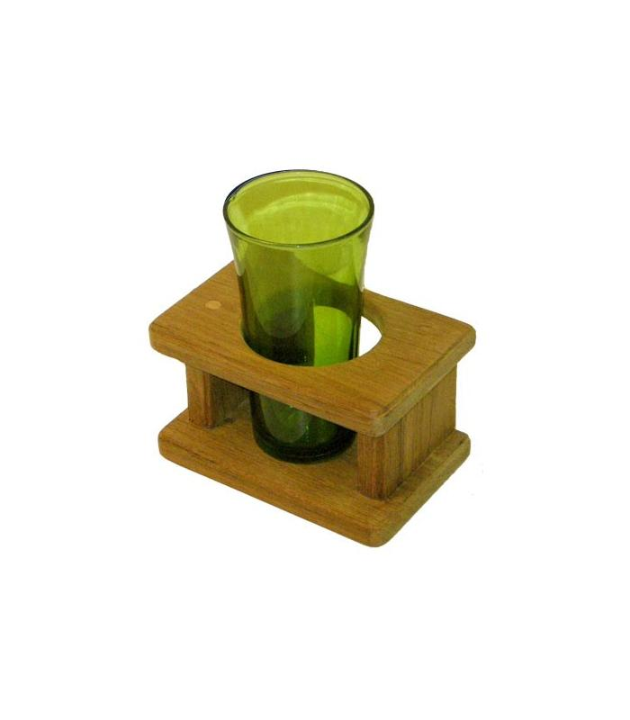 Support 1 verre (13.5x9x8.5cm)