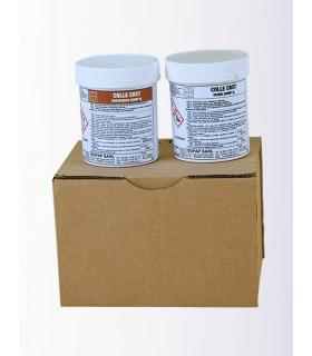 Glue CRST glue and patching special teak kit 250g + 250g