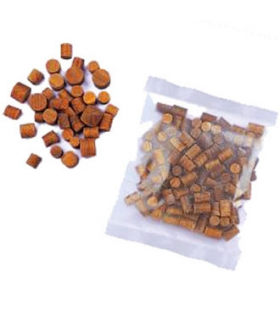 Burmese teak deck plugs 8x8mm (sold by 100) Sold by 100 pcs